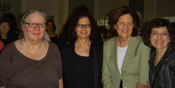 (Left to Right) Mary Thom, Adele M. Stan, Lisa Wohl, Ellen Sweet