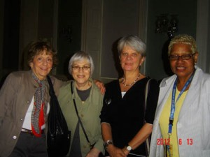Ruth Sullivan, Harriet Lyons, Margaret Hicks, Susan McHenry